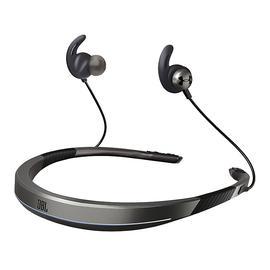 JBL UA Flex 安德玛无线蓝牙耳机 磁吸入耳防汗运动跑步颈挂式耳麦(灰色)