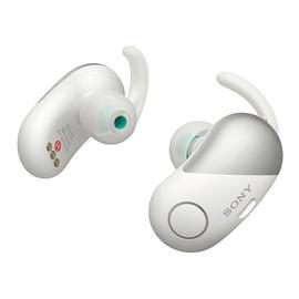 索尼(SONY) WF-SP700N 【热巴代言】真无线蓝牙降噪耳机 运动跑步防水迷你入耳式耳塞(白色)