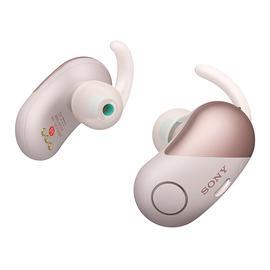 索尼(SONY) WF-SP700N 【热巴代言】真无线蓝牙降噪耳机 运动跑步防水迷你入耳式耳塞 (粉红)