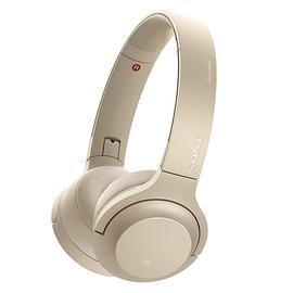 索尼(SONY) WH-H800头戴式立体声无线蓝牙耳机 电脑游戏手机通用耳麦 (浅金)