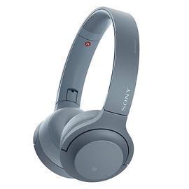 索尼(SONY) WH-H800头戴式立体声无线蓝牙耳机 电脑游戏手机通用耳麦 (月光蓝)