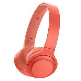 索尼(SONY) WH-H800头戴式立体声无线蓝牙耳机 电脑游戏手机通用耳麦 (暮光红)