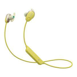 索尼(SONY) 【热巴代言】WI-SP600N 降噪无线蓝牙耳机 运动防水入耳式立体声耳麦(黄色)