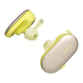 索尼(SONY) WF-SP900 【王俊凯同款】海陆无界真无线蓝牙耳机 运动跑步音乐防水迷你入耳式耳塞 (黄色)