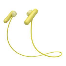 索尼(SONY) 【热巴同款】WI-SP500 无线蓝牙耳机 防水运动入耳式耳塞 免提通话 (黄色)
