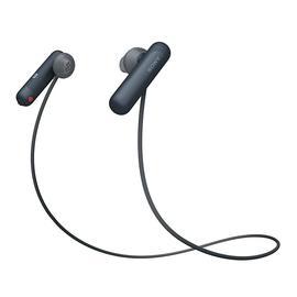 索尼(SONY) 【热巴同款】WI-SP500 无线蓝牙耳机 防水运动入耳式耳塞 免提通话 (黑色)