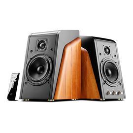 惠威(HiVi) M200MKII+无线蓝牙音箱 有源多媒体2.0HiFi电脑书架音箱 (一对装)