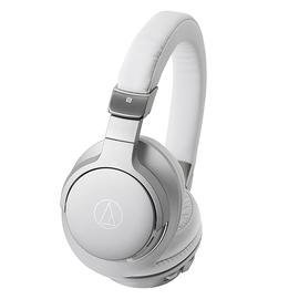 铁三角(Audio-technica) ATH-AR5BT 头戴无线蓝牙耳机 重低音带线控 (银色)