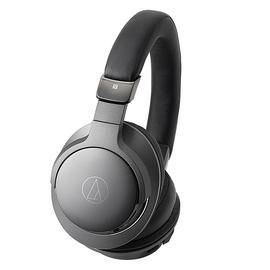 铁三角(Audio-technica) ATH-AR5BT 头戴无线蓝牙耳机 重低音带线控 (黑色)