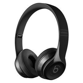 Beats Solo3 Wireless 头戴式无线蓝牙耳机 重低音折叠式耳麦 (亮黑色)