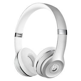 Beats Solo3 Wireless 头戴式无线蓝牙耳机 重低音折叠式耳麦 (银色)