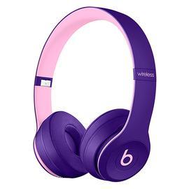 Beats Solo3 Wireless 头戴式无线蓝牙耳机 重低音折叠式耳麦 (紫色)