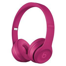 Beats Solo3 Wireless 头戴式无线蓝牙耳机 重低音折叠式耳麦  (深砖红色)