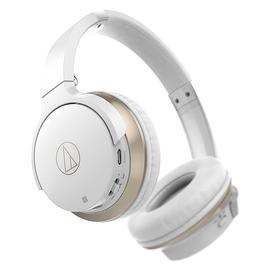 铁三角(Audio-technica) ATH-AR3BT 【三玖同款】无线蓝牙耳机 头戴重低音音乐运动带线控耳麦 (白色)