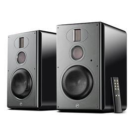惠威(HiVi) H6 无线蓝牙HiFi音箱电脑电视多媒体书架式三分频音响 2.0高保真有源音箱(一对)