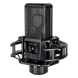 莱维特(LEWITT) LCT 280 电容录音麦克风 手机电脑主播直播K歌喊麦话筒(黑色)