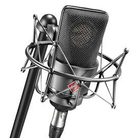 纽曼(Neumann) TLM103 电容式录音麦克风 大振膜主播直播K歌话筒 小U87【德国进口】(黑色、带防震架)