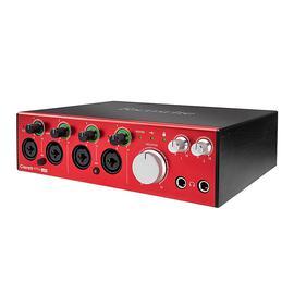 富克斯特(Focusrite) Clarett 4Pre USB 18进8出 专业录音编曲USB声卡音频接口