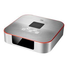 JBL DCS3500 桌面迷你无线蓝牙音箱 手机无线充电音响带闹钟收音机