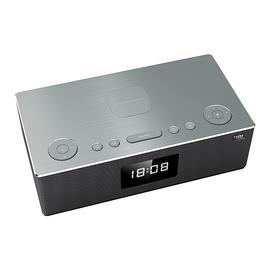 JBL DCS5500 桌面多媒体无线蓝牙音箱 手机无线充电音响带闹钟收音机可插卡