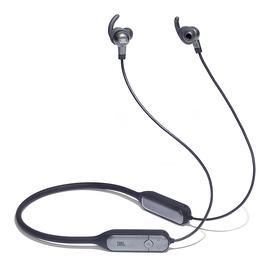 JBL V150NC 无线蓝牙耳机 主动降噪颈挂入耳式运动HIFI耳麦 (灰色)