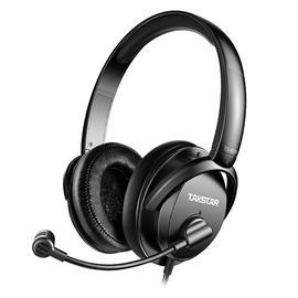 得胜(TAKSTAR) TS-450M 立体声头戴式多媒体耳机 电脑语音聊天游戏电竞耳麦