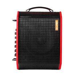 LPTA 魔方魔3plus电箱原声电木吉他音箱 户外便携式蓝牙直播弹唱音响 (红色)