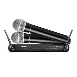 舒尔(SHURE) SVX288/PG58 手持式无线麦克风 舞台演出/现场主持/会议演讲话筒(一拖二)