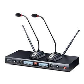 得胜(TAKSTAR) TS-8807TT  UHF鹅颈式会议无线麦克风 演讲培训广播话筒一推二