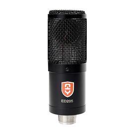原飞乐(EDMiCN) ED205 专业大振膜电容话筒 录音K歌主播直播麦克风