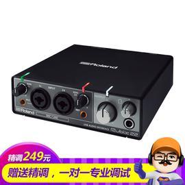 罗兰(Roland) Rubix 22 USB专业录音声卡 2进2出带双话放
