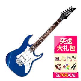 依班娜(Ibanez) 电吉他品牌 GRX140 初学入门电吉他 (蓝色)