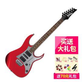 依班娜(Ibanez) 电吉他品牌 GRG150P 双摇电吉他 (红色)