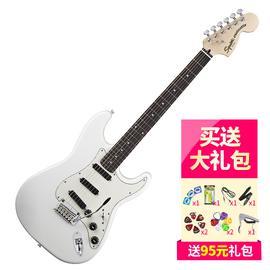 斯奎尔(Squier-Fender) 030-0510-505 SQ 豪华 STRAT HOT RAILS 电吉他 (白色)