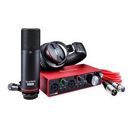 富克斯特(Focusrite) Scarlett 2i2 Studio 三代 专业录音编曲麦克风声卡套装