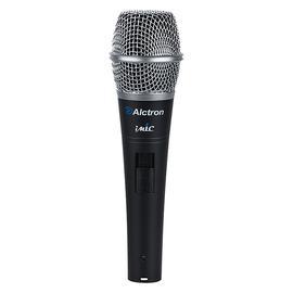 爱克创(Alctron) IMIC 手持电容麦克风 网络K歌YY喊麦主播直播麦克风话筒 (黑色)
