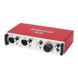 爱克创(Alctron) U48 主播直播录音USB外置声卡 电脑K歌录音主持