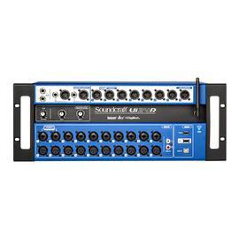 声艺(Soundcraft) UI24R 机架式24路数字调音台USB多轨录音系统 乐队排练舞台演出调音台