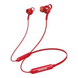 得胜(TAKSTAR) AW1 入耳式蓝牙防水运动耳机 (红色)