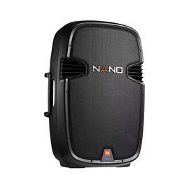 JBL NANO355 15寸便携式两分频专业舞台演出扩音无源音箱 会议户外演唱音响(单只)