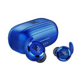 JBL T280 TWS 真无线蓝牙耳机防水防汗运动耳机无线入耳式耳塞 (蓝色)