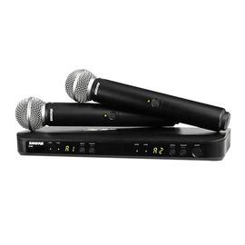 舒尔(SHURE) BLX288/SM58 KTV/演出手持式无线动圈麦克风(标配不含线材)