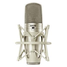 舒尔(SHURE) KSM44A 专业录音大振膜多指向性电容麦克风 主播直播K歌话筒