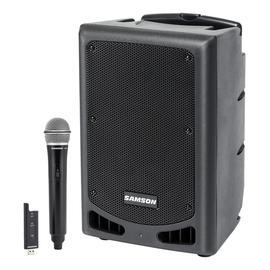 山逊(SAMSON) XP208W  8寸便携式蓝牙有源拉杆音箱 舞台演出会议乐队排练广场舞多功能音响 (配无线手持