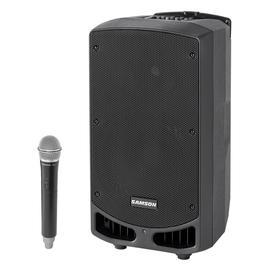 山逊(SAMSON) XP310W 10寸便携式蓝牙有源拉杆音箱 舞台演出会议乐队排练广场舞多功能音响 (配无线手持