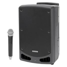 山逊(SAMSON) XP312W 12寸便携式蓝牙有源拉杆音箱 舞台演出会议乐队排练广场舞多功能音响 (配无线手持