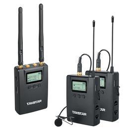 得胜(TAKSTAR) SGC-200W R2腰包式U段无线领夹麦克风  抖音快手美拍VLOG影视录音话筒(一拖二)