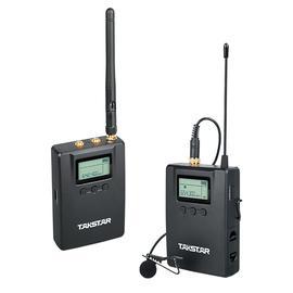 得胜(TAKSTAR) SGC-200W R1腰包式U段无线领夹麦克风  抖音快手美拍VLOG影视录音话筒(一拖一)