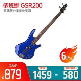 依班娜(Ibanez) 电贝司品牌 GSR200 超薄舞台演奏电贝司  (蓝色)