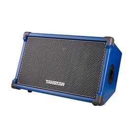 得胜(TAKSTAR) OPS-25 户外演出直播便携式弹唱音箱 无线蓝牙手机K歌吉他音响 简约版 不带话筒 (蓝色)